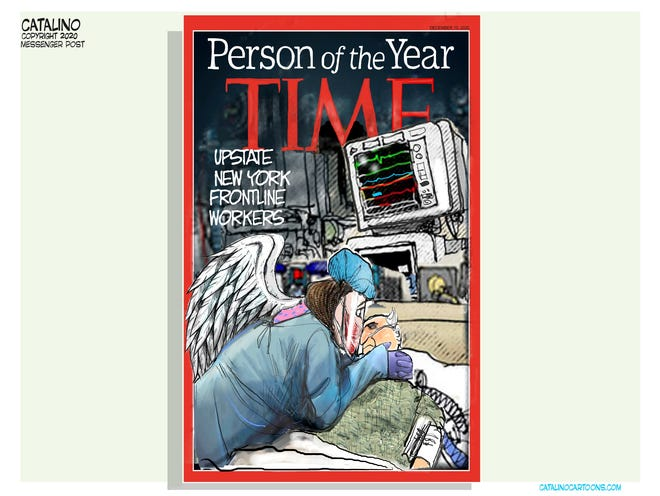 Local cartoonist Ken Catalino offers his take on who should be Time magazine's Person of the Year for 2020.