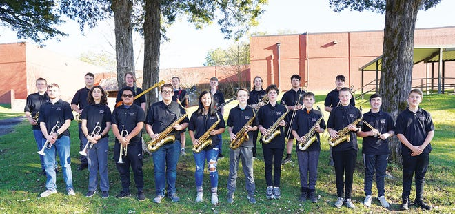 The ORHS JazzKats, pictured here, will be just one of the student groups performing at the ORHS Band Holiday Concert at 7 p.m. Thursday, Dec. 17. Admission is free.