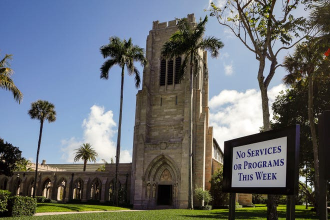 The Episcopal Church of Bethesday-by-the-Sea was founded in Palm Beach in 1889.