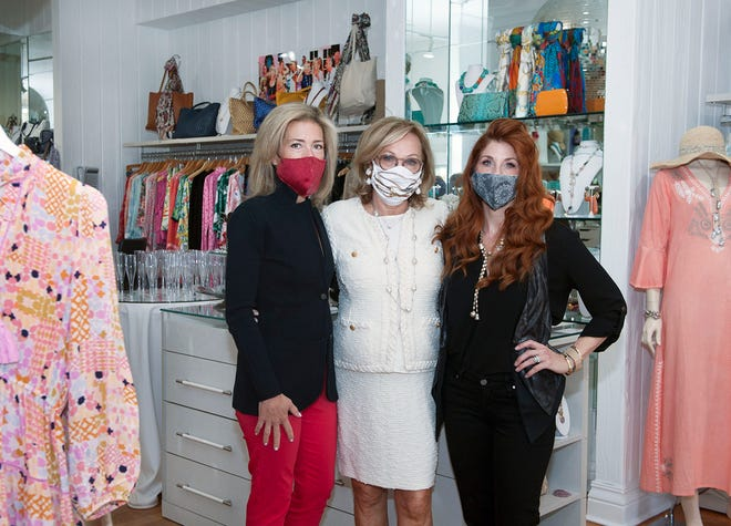 Abby Bessenroth, from left, Margrit Bessenroth-Lynn and Melrose Bessenroth run Salon Margrit and Abby's on the Island, a revamped version of Margrit Boutique.