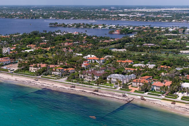 Palm Beach real estate was the focus of an online panel discussion presented Thursday by the Palm Beach Chamber of Commerce as part of its monthly programming schedule. Palm Beach's Estate Section is seen here in a photo taken several years ago.