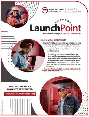 The Greater Stark County Urban League received a grant to start a workforce development program, LaunchPoint.