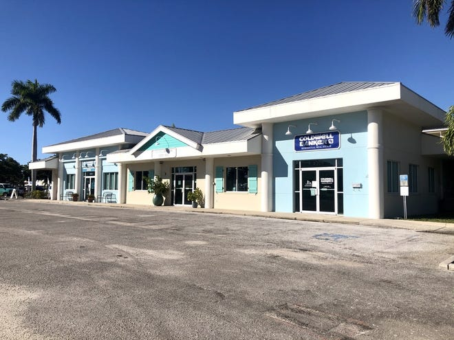 """The 14,376-square-foot Waterline Shoppes property at 5313 Gulf Drive in Holmes Beach was purchased by local businessman William """"Billy"""" Keel. (PHOTO PROVIDED / IAN BLACK REAL ESTATE)"""
