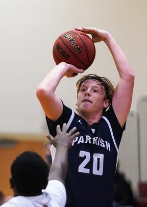 Braden River hosts Parrish Community in boys basketball on Thursday night. Braden River won 65-52. DANIEL WAGNER / HERALD-TRIBUNE