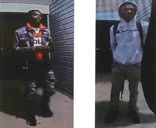 suspects in Jimmies Creek armed robbery