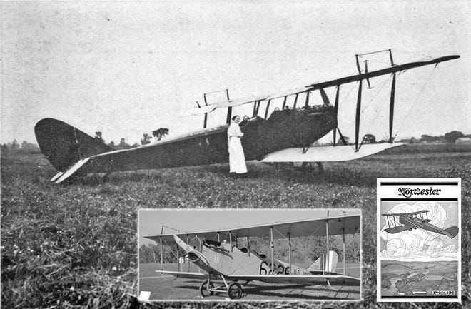 """The Curtiss JN-4D """"Jenny"""" was one of a series of biplanes built by the Curtiss Aeroplane Co., later the Curtiss Aeroplane and Motor Co. Although the aircraft originally was produced as a training airplane for the U.S. Army, thousands of surplus Jennys were sold at bargain prices to private owners in the years after the war and became central to the barnstorming era that helped awaken the U.S. to civil aviation through much of the 1920s."""