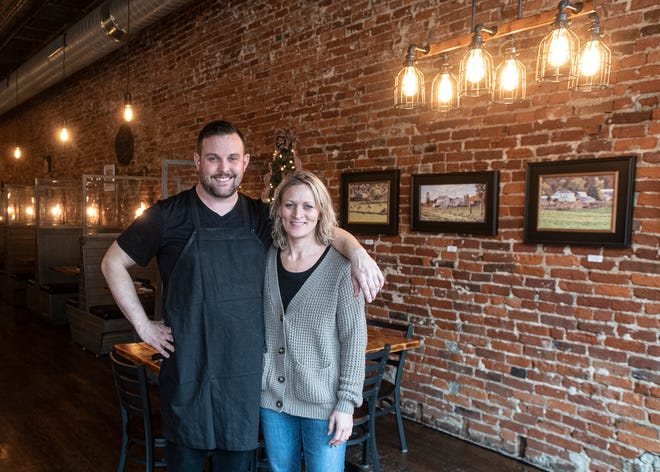 Cody Rutherford and his wife Danyelle started R Kitchen on Paint in 2016.