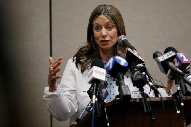 Dr. Amy Acton won't run for U.S. Senate.