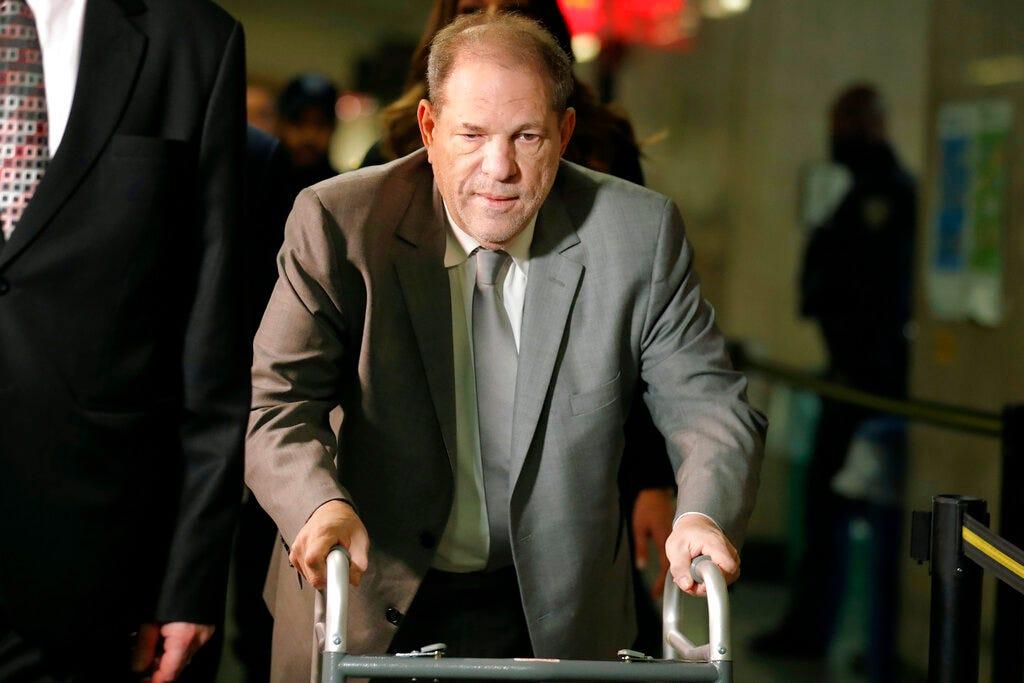 Harvey Weinstein appeals conviction, blames 'cavalier' judge 1