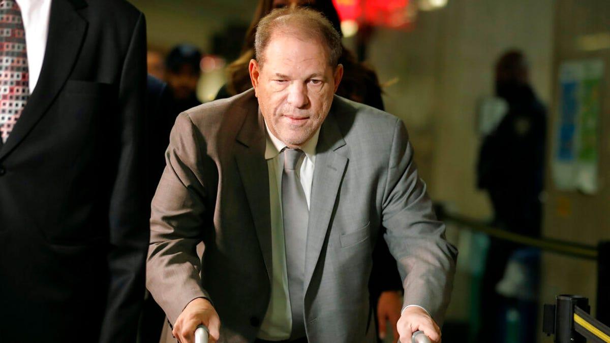 Harvey Weinstein appeals conviction, blames 'cavalier' judge 2