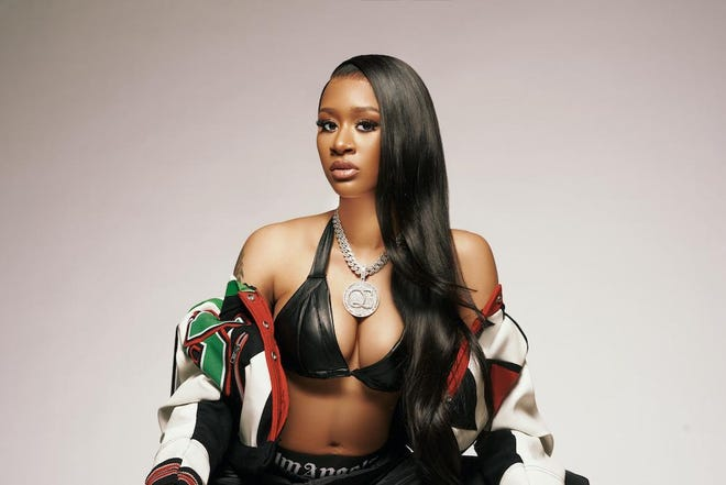 "Milwaukee-born rapper Lakeyah is dropping ""In Due Time,"" her second mixtape in four months for Quality Control Music, on April 9."