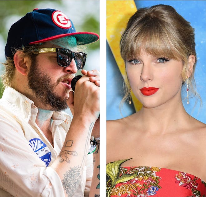 "Justin Vernon and Taylor Swift worked on five songs on her new surprise album ""Evermore,"" including the title track which features Bon Iver."