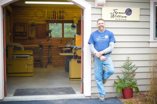 Tom Dumke, a fine furniture craftsman from Oconomowoc, is among an elite group of 20 artists nationwide selected for top gift picks by Artists Sunday.