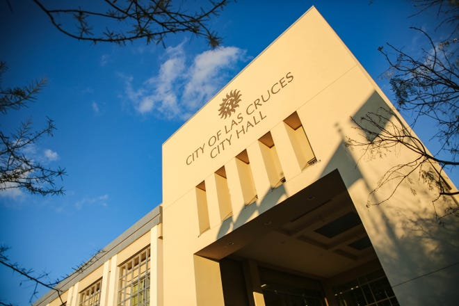 Las Cruces City Hall is pictured on Thursday, Dec. 10, 2020.