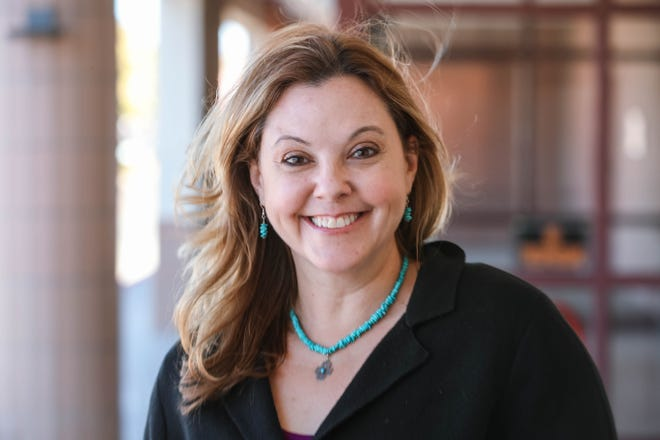 Amy Himelright is director of mental health and academic counseling at Las Cruces Public Schools. Pictured Friday, Dec. 11, 2020.