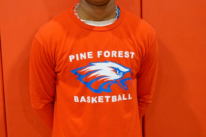 Ozell Purifoy is playing beyond his years as a sophomore leader for Pine Forest.