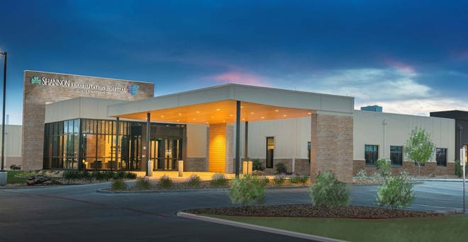 Shannon Health is partnering with Encompass Health Corp. to form a new, 40-bed, freestanding inpatient rehabilitation hospital in San Angelo. It will be located on about 7.7 acres along the north side of the Appaloosa Trail west of the intersection with Farm-to-Market Road 2288.