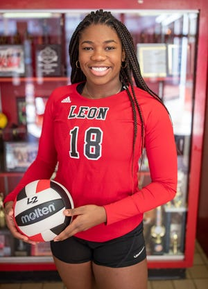 Cailin Demps, Leon High School, volleyball player of the year
