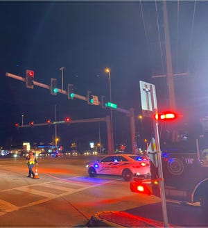 Motorcycle crash at U.S. 1 and Southeast Port St. Lucie Boulevard