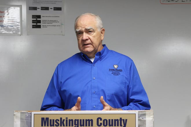 Dr. Jack Butterfield, medical director of the Zanesville-Muskingum County Health Department, talk about COVID-19 during the department's recent Facebook Live.