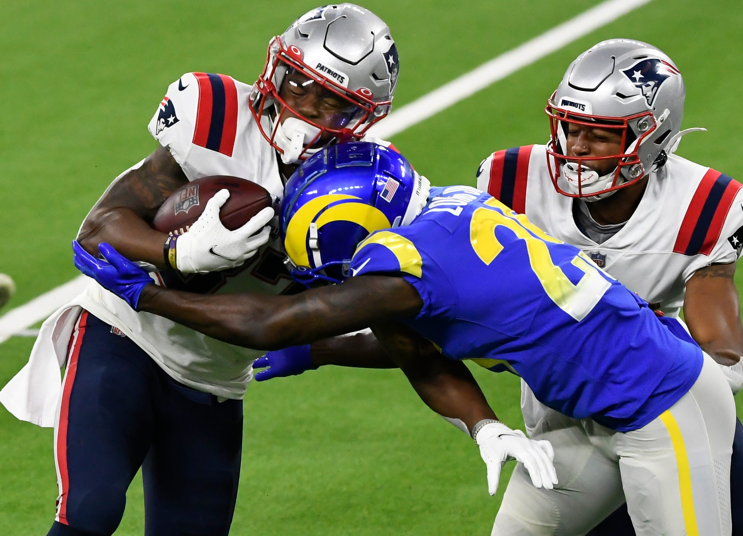 New England Patriots' offense fizzles as Los Angeles Rams get lopsided 'Thursday Night Football' win