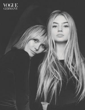 """""""Seize ans est un bon âge"""" pour commencer à faire du mannequinat, a déclaré Heidi Klum à Vogue Allemagne."""