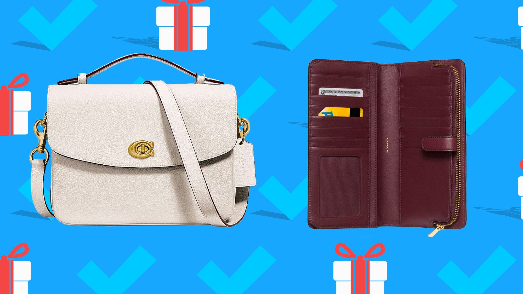 Coach bags are on sale for 50% off with an extra 15% off this weekend only