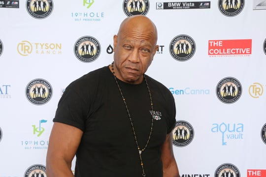 In this Aug. 2, 2019 file photo, Tommy 'Tiny' Lister attends the Mike Tyson Standing United and the Tyson Ranch Celebrity Golf Tournament in Dana Point, Calif.