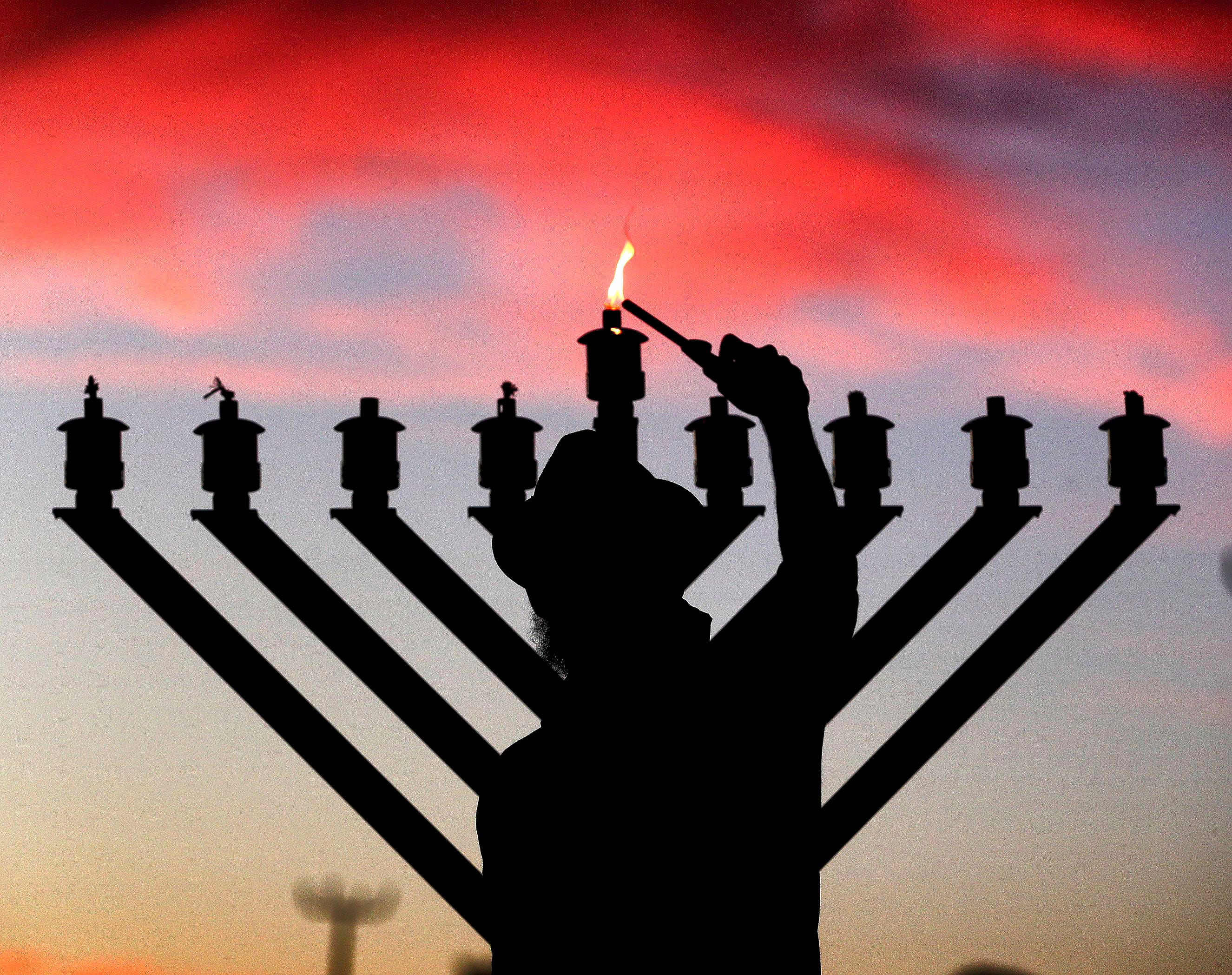 Staying Apart, Together: The Hanukkah lights shine bright, even from afar