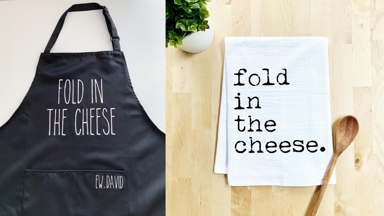 Fold in the Cheese Adult Apron