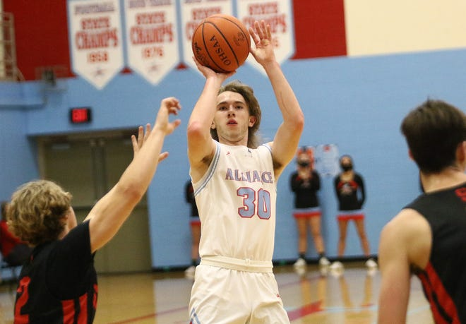 Alliance's Cameron Haynes leads the area boys players in 3-point shooting percentage.