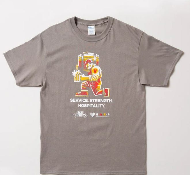 Victory Brewing Co., known for its craft brews,is selling T-shirts that will directly benefit the Hospitality Assistance Response of PA., an initiative designed toprovide monetary relief to hospitality workers who have been impacted by the COVID-19 pandemic. T-shirts cost $20 and are available while supplies last at the online store at victorybeer.com.