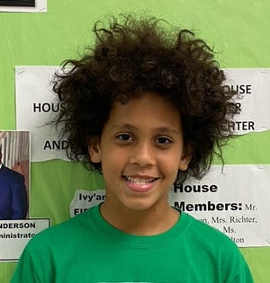 Fifth-grader Braylon Harris has been a member of Food Brings Hope's FBHonors program for two years.