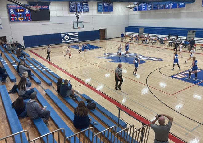 The Fort LeBoeuf girls play Seneca in a girls basketball game Dec. 11, 2020, at Fort LeBoeuf.