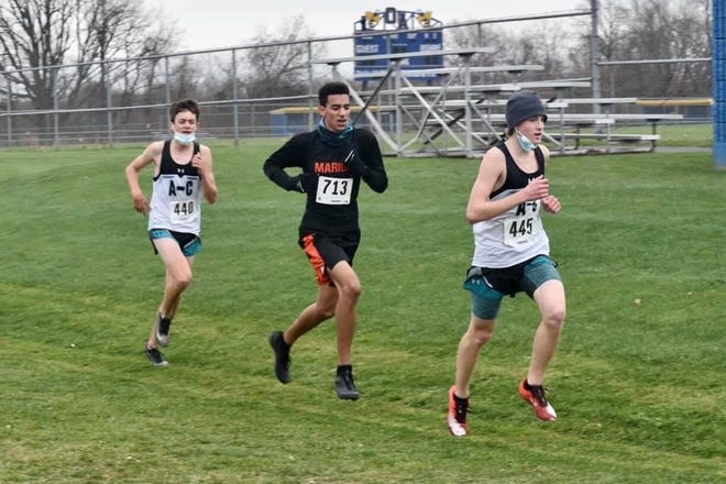Runner of the Year Pierce Young, of Arkport/Canaseraga, leads the pack this season.