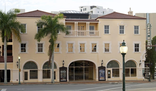 The Sarasota Opera House was built as the Edwards Theatre in 1926.
