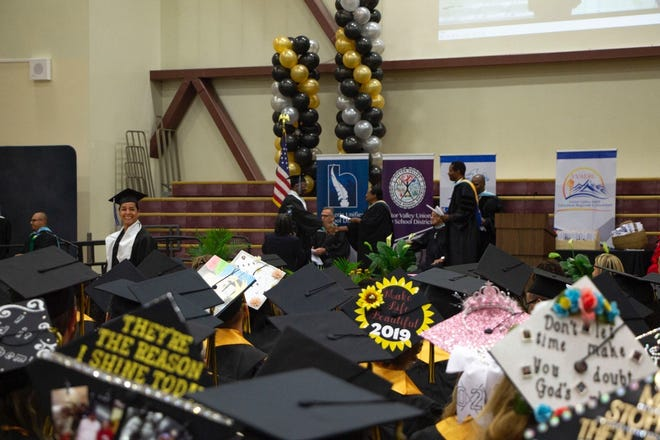 The 2019 commencement ceremony for the Victor Valley Adult Education Regional Consortium celebrated 470 graduates.