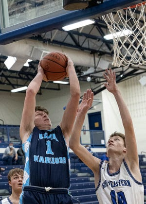 Adena senior Logan Bennett was selected as the Scioto Valley Conference boys basketball Player of the Year.