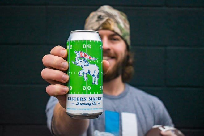 Eastern Market Brewing Co. announced the re-release of the Same Old Lager beer with a new can design on Dec. 11, 2020, after stopping production the previous month when Detroit Lions legend Barry Sanders raised concerns about the use of his likeness.