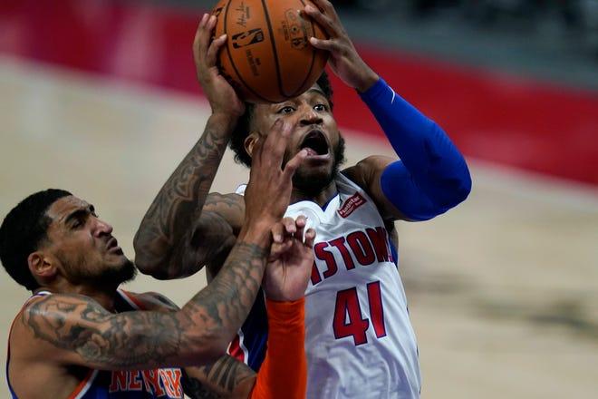 Pistons rookie guard Saddiq Bey