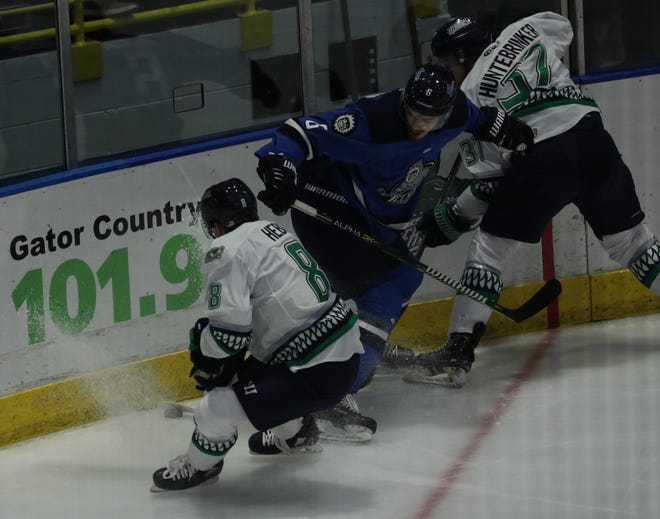 The Everblades and Icemen face off again in Wednesday's game.