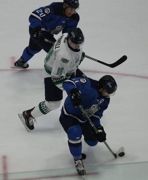 The Florida Everblades and Jacksonville Icemen meet for the second time this season on Saturday.