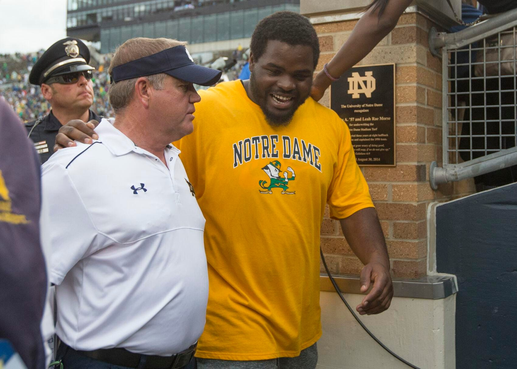 Ex-Notre Dame star Louis Nix III faces uncertain future after being shot in chest