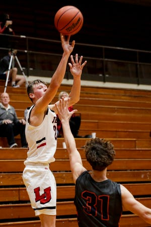 Jacob Collicott scored a game-high 22 points to lead Lafayette Jeff past Fishers on Tuesday night.