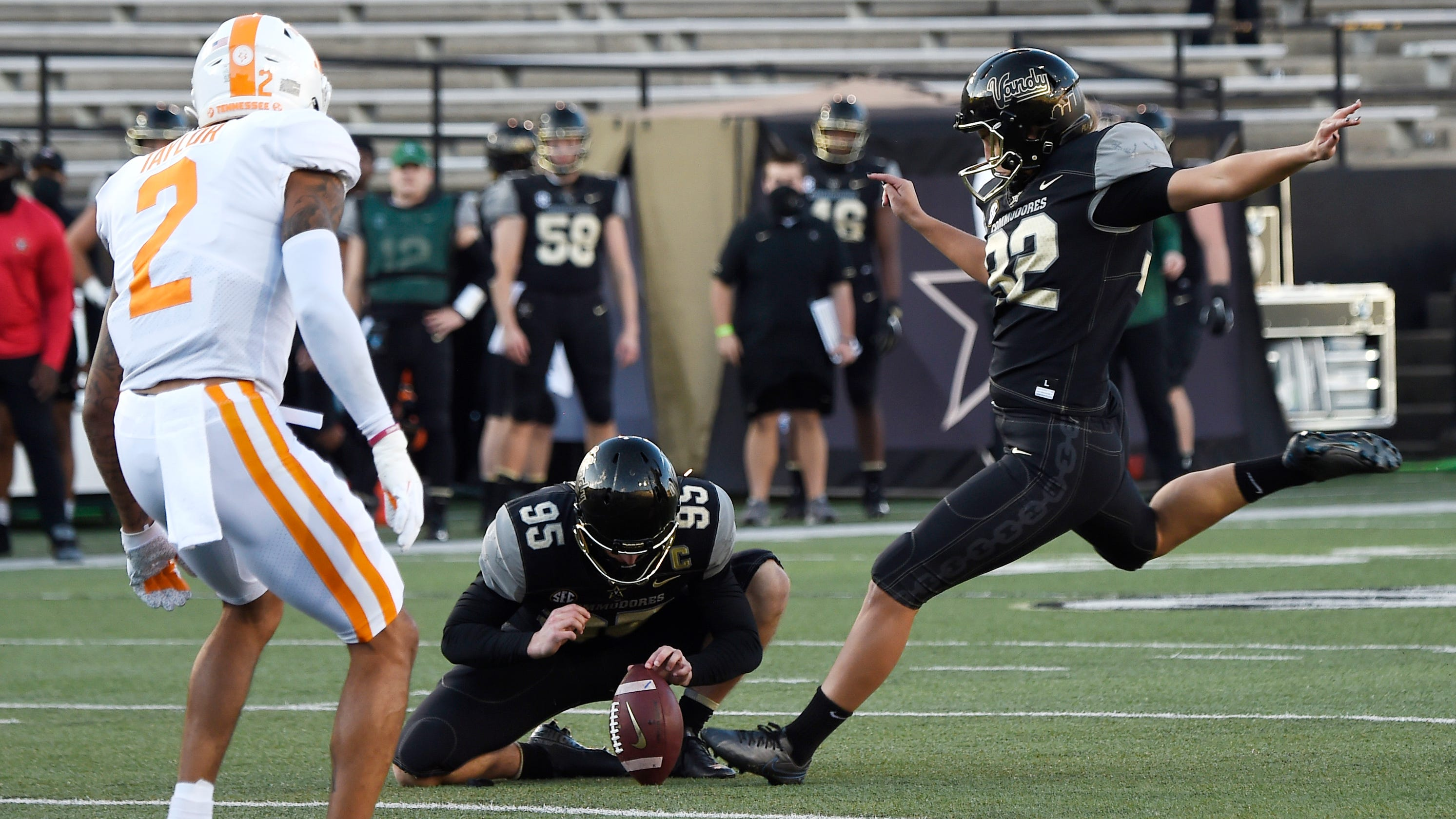 Vanderbilt kicker Sarah Fuller becomes first woman to score in Power Five college football game