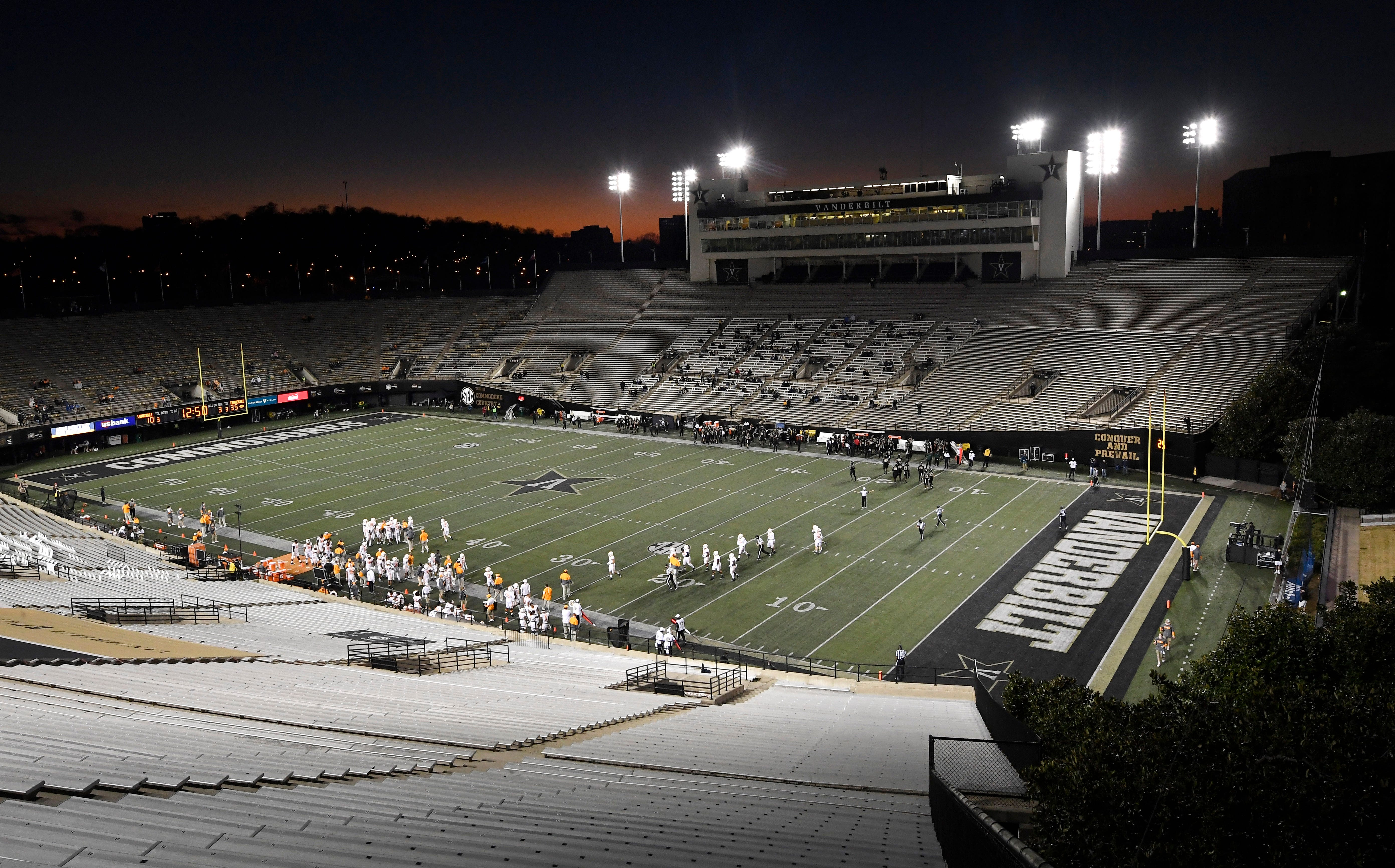 Vanderbilt's first winless football season ends after Georgia game canceled because of  COVID-19