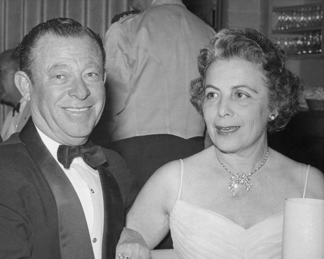 From left to right: Mr. and Mrs. Jack Meiselman.