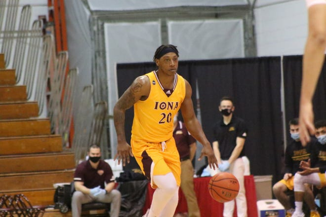 Iona senior Isaiah Ross had a game-high 30 points in the Gaels' 70-42 win over Fairfield on Friday night.