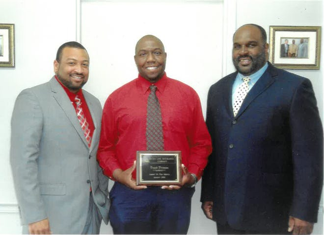 DELTA Life Insurance awards Reggie Johnson as Top Agent for the months of July, August and September 2020. He has been employed with the company as an agent since October of 2015. His supervisors said that he is professional and dedicated to his clients; and, he enjoys working with them. He is an active member of Spears Grove Baptist Church and is devoted to his family, friends and community. The company thanks all of his clients in the Jefferson County area for helping to make him a success. Pictured are (from left) Donald Wallace, S.M., Johnson and Vernus Gregory, D.M.
