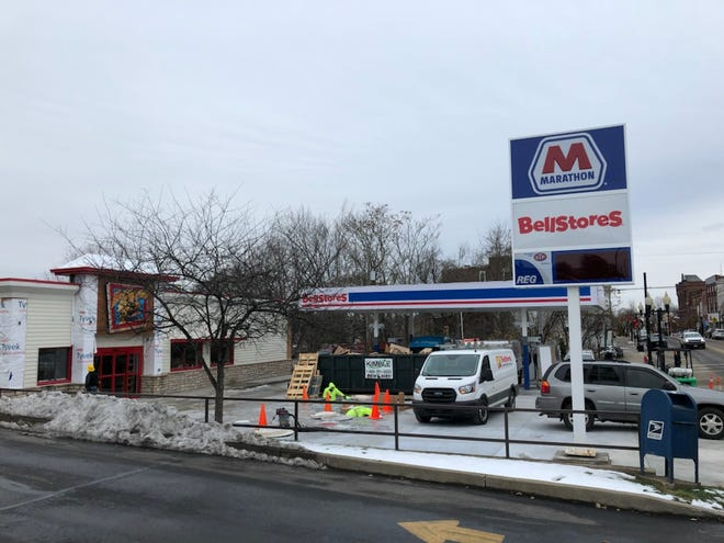 Sixty years after the Hartley Company of Cambridge opened a new Shell Oil service station at the corner of E. Main and South Arch streets, the business at this location is undergoing a second transformation.